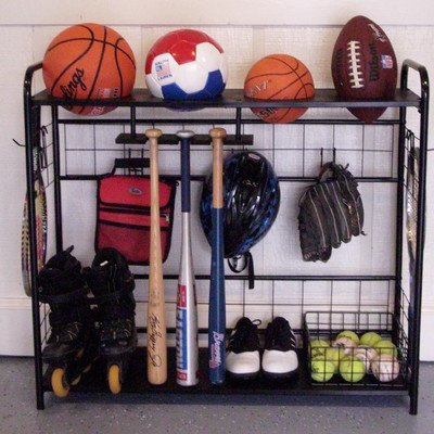 JJ International Sports Organizer (Sports Storage Rack compare prices)