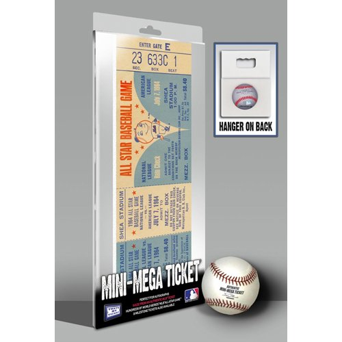 MLB New York Mets 1964  All-Star Game Mini-Mega Ticket at Amazon.com