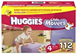 Huggies Little Movers, Size 4, 112 Count