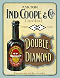 Ind Coope Double Diamond metal sign (og 3040)