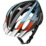 Carrera E0449 C-Storm 2 MTB Helmet - Iron/Orange/Azzure Blue, 58-61 cm