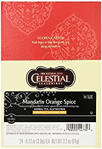 Celestial Seasonings, Herbal Tea, K-Cup Portion Pack for Keurig K-Cup Brewers