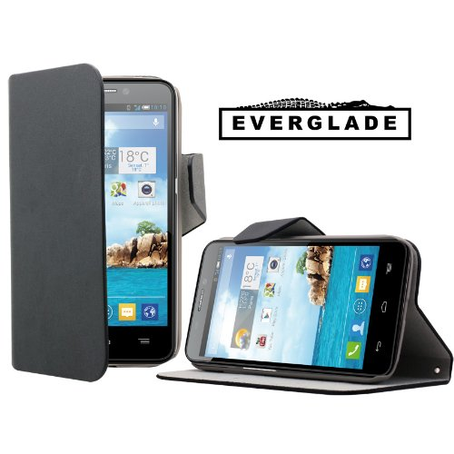 Accessoires t l phones portables housse noire alcatel one for Housse alcatel one touch