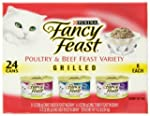 Fancy Feast Gourmet Cat Food, 3-Flavo...