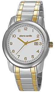 Pierre Cardin Men's Quartz Watch PC104751F03 PC104751F03 with Metal Strap