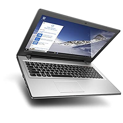 Lenovo Ideapad 300 80Q700UEIN 15.6-inch Laptop (Core i5-6200U/4GB/1TB/DOS/2GB Graphics), Silver