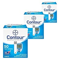 Bayer Contour Glucose Test Strips 150 Count from Bayer