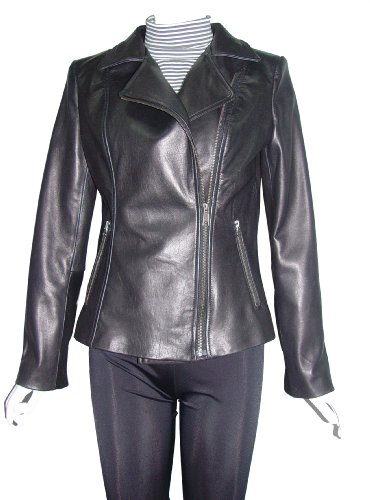 Nettailor 4099 Fitted Custom Leather Motorcycle Jackets Ladies Soft Lamb