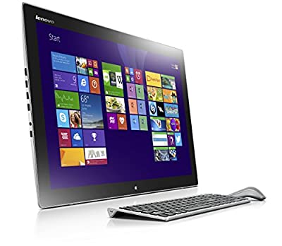 Lenovo Horizon II 27-Inch All-in-One Touchscreen Desktop (F0AQ000QUS) Silver