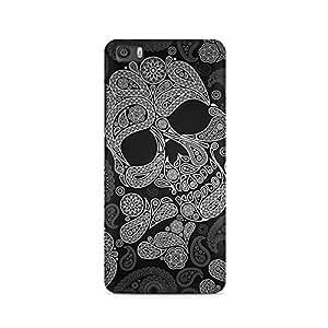 Ebby Paisley Skull Premium Printed Case For Xiaomi Redmi Mi4i