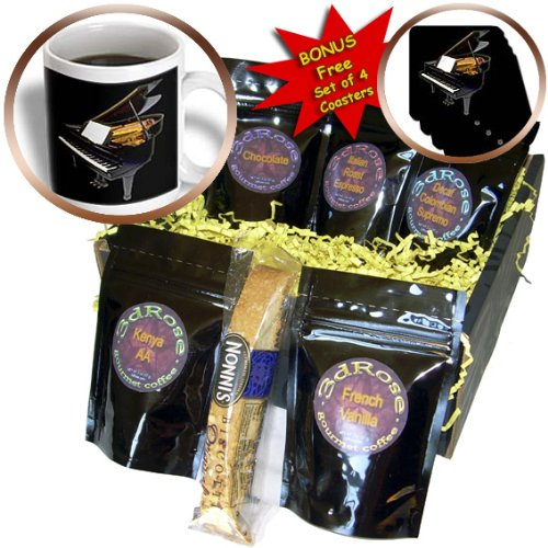 cgb_399_1 Piano – Grand Piano – Coffee Gift Baskets – Coffee Gift Basket