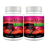 African Mango Burn (2 Bottles) - The Ultimate African Mango Fat Burning, Weight Loss, Appetite Suppressing Diet Pillby African Mango Burn