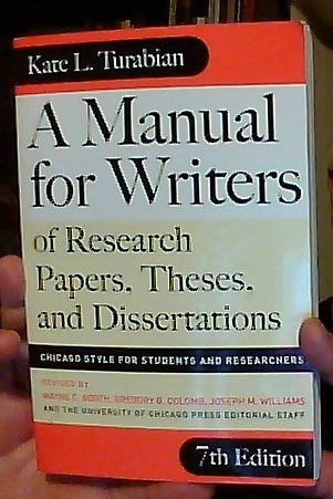 Writers of research papers 7th edition