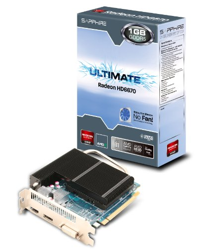 Sapphire 11192-06-20G HD6670 1GB Ultimate Graphics Card [PC]