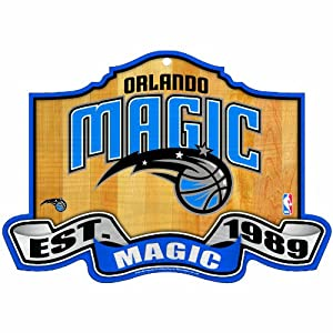 NBA Orlando Magic 11-by-17 inch Established Wood Sign