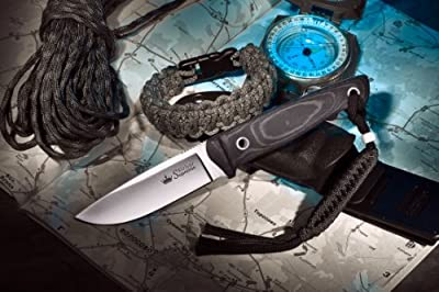 Kizlyar KK0047 Santi D2 Russian Made Tactical Knife, Satin by CAS HANWEI :: Combat Knife :: Tactical Knife :: Hunting Knife :: Fixed Blade Knife :: Folding Blade Knife