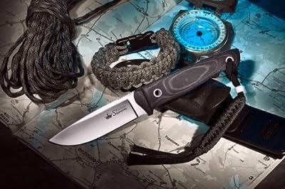 Kizlyar KK0047 Santi D2 Russian Made Tactical Knife, Satin by CAS HANWEI