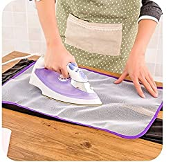 Ironing Pad Protective Insulation Scorch Mesh Cloth, Pressing Cloth for Easy Ironing by Infinity