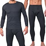 MT® THERMO LIGHT Herren Thermowäsche Set Anthrazit-L