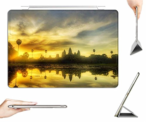iRocket iPad Air Case + Transparent Back Cover, angkor wat, [Auto Wake/Sleep Function] (Angkor Wat Model compare prices)