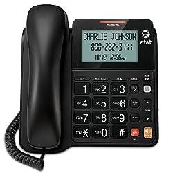 AT&T CL2940BK Landline Telephone, 1-Handset