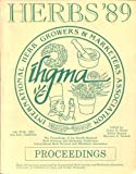 Herbs 89, The Proceedings of the Fourth Annual Herb Growing and Marketing Conference