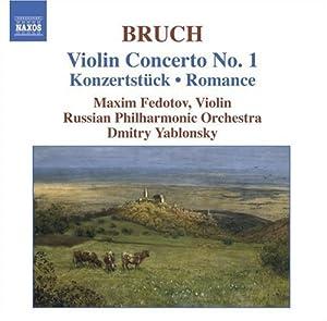 Bruch - Violin Concerto No 1; Romance, Op 42