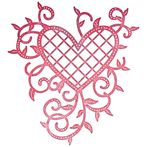 cheery-lynn-designs-lattice-cuore-e-vines-die-in-acrilico-multicolore-35-x-3875-inch