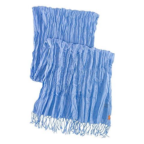 (ポロ ラルフローレン)POLO RALPH LAUREN スカーフ Crinkled Cotton Scarf ブルーFall Blue 【並行輸入品】