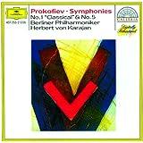 """Prokofiev: Symphonies Nos.1 """"Classical"""" & 5"""