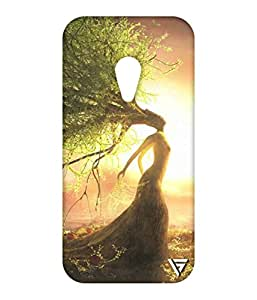 Vogueshell Nature Printed Symmetry PRO Series Hard Back Case for Motorola Moto G2
