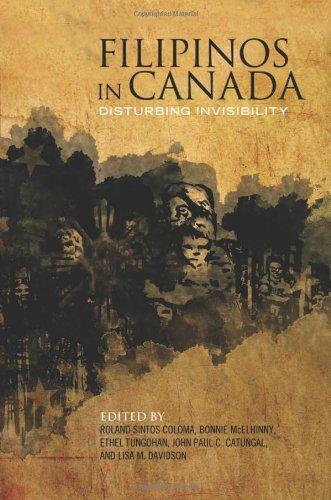 Filipinos in Canada: Disturbing Invisibility