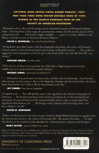 Emerson: The Mind on Fire (Centennial Books)