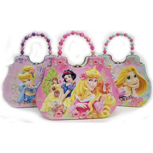 Disney Princess Castle Tin Purse -random choice - 1