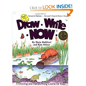 Draw Write Now, Book 6: Animals Habitats -- On Land, Pond &amp; Rivers, Oceans (Draw-Write-Now)
