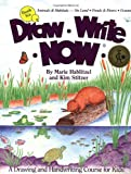 img - for Draw Write Now, Book 6: Animals Habitats -- On Land, Pond & Rivers, Oceans (Draw-Write-Now) book / textbook / text book