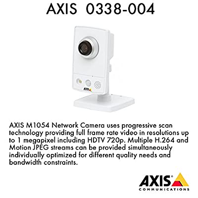 AXIS M1054 Network Camera - Network Camera (82866R) Category: Networking Signal Boosters, Cameras and Security