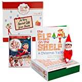 "Elf on the Shelf Blue Eyed Girl with Bonus ""An Elf Story"" DVD - Direct From North Pole in Limited Edition Official Gift Box"