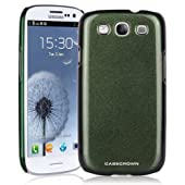 CaseCrown Chameleon Snap On Case (Olive Aqua Green) for Samsung Galaxy S III S3 GT-I9300 (QTY 1)