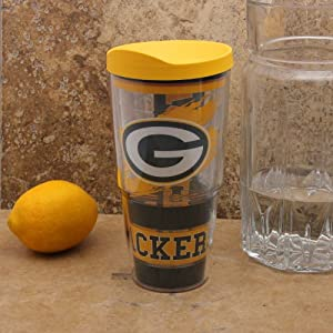 NFL Tervis Tumbler Green Bay Packers 24oz. Wrap Tumbler Pro with Travel Lid