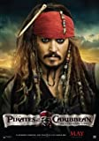 PIRATES OF THE CARIBBEAN ON STRANGER TIDES - JOHNNY DEPP- US MOVIE FILM WALL POSTER - 30CM X 43CM JACK SPARROW