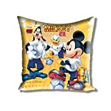 Disney Athom Trendz Cushion Cover- Mickey - 40cmx40cm