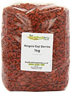 Ningxia Goji Berries 1 Kg from Buy Goji Berries Online Ltd.