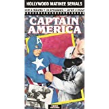 Captain America 15 Episodes [VHS]