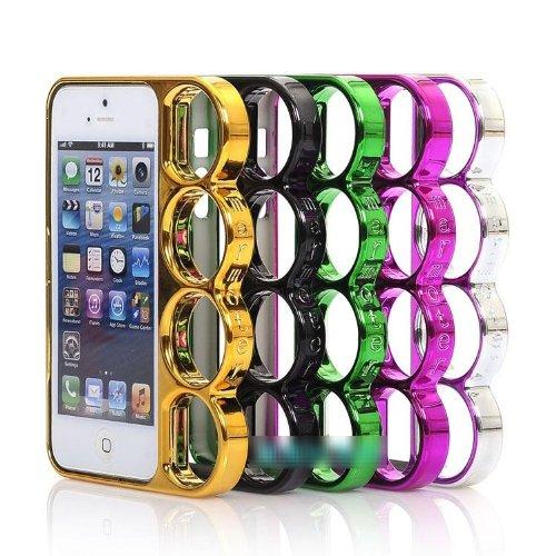 Amazon.co.jp: iPhone5 Knucklecase ナックルケース (シルバー): 家電・カメラ