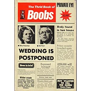 THE THIRD BOOK OF BOOBS PRIVATE EYE