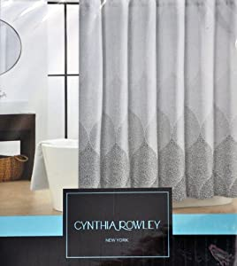 Amazon Com Cynthia Rowley Stamped Ombre Black Gray White
