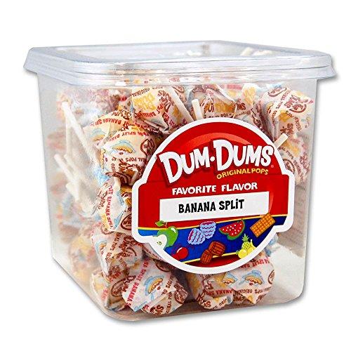 Dum Dum Pops 1 Lb Tub Banana Split (Banana Split Dum Dums compare prices)