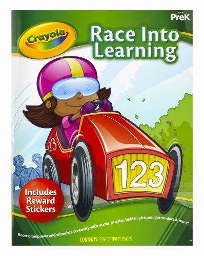 Crayola Early Learning Skill Workbook Race into Learning
