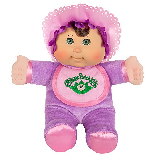 Cabbage Patch Kids: 11 inch Purple Retro Baby Doll (Caucasian Girl, Brown Hair, Green Eyes) (Cabbage Patch Vintage compare prices)